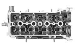 Двигатель внутреннего сгорания головки цилиндра Стоковое фото RF