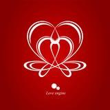 Двигатель влюбленности стоковое изображение rf