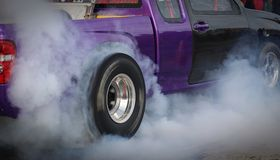 Двигатель гонок мотора Стоковая Фотография