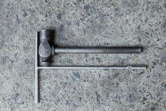 Двигатель инструментов Стоковая Фотография RF