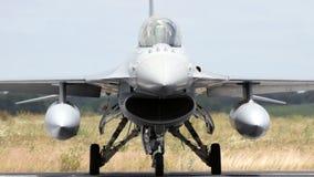 Двигатель истребителя F-16 НАТО Стоковые Фото