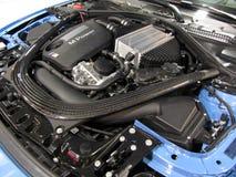 Двигатель и компоненты BMW Стоковое Изображение