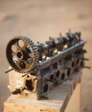 Двигатель и valce Стоковое Изображение