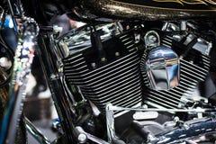 Двигатель мотоцикла Стоковые Фотографии RF