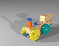 Двигатель поезда игрушки Стоковая Фотография