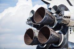 Двигатель работы космического летательного аппарата многоразового использования Стоковое Изображение RF
