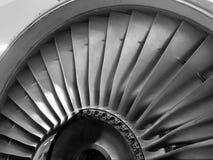 Двигатель самолета двигателя, турбина… Стоковое Изображение