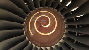 Двигатель турбины двигателя видеоматериал