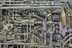 Двигатель турбореактивности стоковые изображения