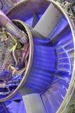 Двигатель турбореактивности стоковая фотография