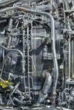 Двигатель турбореактивности стоковое изображение
