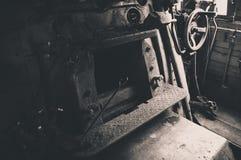Двигатель угля стоковое фото rf