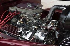 Двигатель хрома Плимута Стоковые Фото