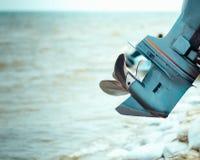 Двигатель шлюпки стоковая фотография rf