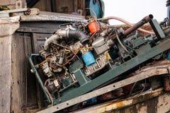 Двигатель Fishermans Стоковые Изображения