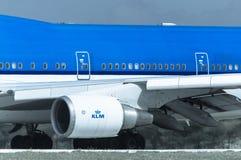 Двигатель KLM Стоковое Изображение