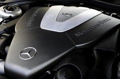 Двигатель V8 Мерседес-Benz Стоковое Изображение RF