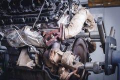 Двигатель V8 Стоковые Изображения