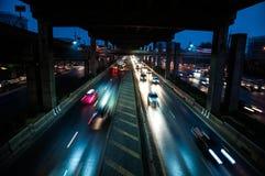 Двигать автомобилей Стоковое фото RF