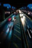 Двигать автомобилей Стоковые Фотографии RF