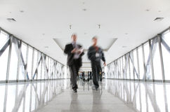 двигать бизнесменов Стоковое Изображение