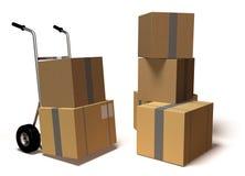 двигать коробок
