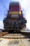 двигать тепловозной быстрой перевозки локомотивный Стоковое Изображение