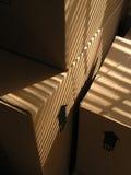 двигать 2 коробок Стоковые Изображения RF