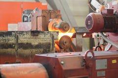 Двигать heated металлический стержень Стоковые Изображения RF
