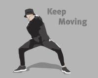 Двигать Keep Стоковое фото RF