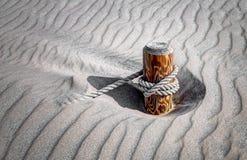 Двигая дюны - граница, полдень стоковое изображение