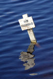 двигая под углом запад воды клуба Стоковое Фото
