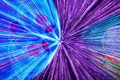 Двигая покрашенная предпосылка светов Абстрактный фон Стоковая Фотография RF
