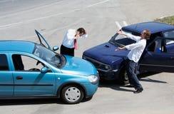 движение аварии Стоковое Изображение