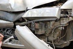 движение автокатастрофы аварии Стоковые Изображения RF