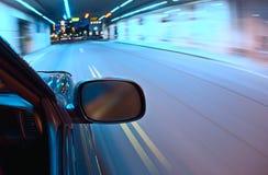 движение автомобиля нерезкости Стоковое фото RF