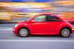 движение автомобиля черепашки beettle Стоковое Изображение