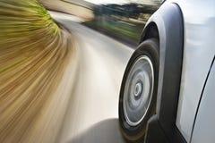 движение автомобиля стоковые изображения