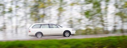 движение автомобиля Стоковое Изображение