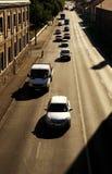 Движение автомобиля Стоковая Фотография
