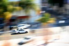 движение автомобиля Стоковые Фотографии RF