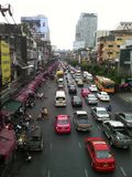 Движение Бангкока Стоковые Фото