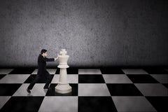 Движение бизнесмена стратегическое Стоковое Изображение RF