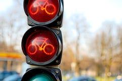 движение велосипеда светлое Стоковая Фотография RF