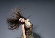 движение волос ваше Стоковые Изображения