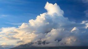 Движение вулкана Mayon панорамное акции видеоматериалы