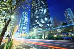 Движение в городе токио стоковые изображения rf