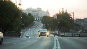 Движение в городе сток-видео