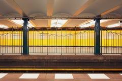 Движение в метро Стоковое Изображение