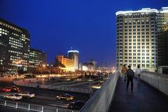 Движение в Пекине Китае стоковое фото rf